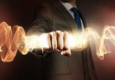 Geschäfts-Energie Lizenzfreie Stockbilder