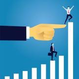 Geschäfts-erreichendes Erfolgs-Konzept Lizenzfreies Stockbild