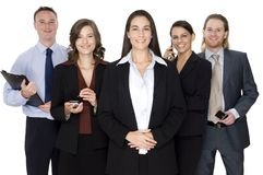 Geschäfts-Führung Stockfoto