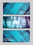 Geschäfts-Fahnenhintergründe der Zusammenfassung gesetzte Stockfotos