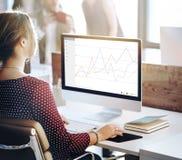 Geschäfts-Feedback-Ergebnis-Bericht-Übersichts-Konzept lizenzfreies stockfoto