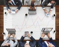 Geschäfts-Feedback-Ergebnis-Bericht-Übersichts-Konzept stockbild
