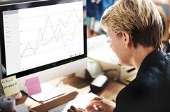 Geschäfts-Feedback-Ergebnis-Bericht-Übersichts-Konzept stockfotos
