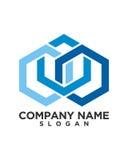 Geschäfts-Finanzberufslogovektor Lizenzfreies Stockfoto