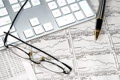 Geschäfts-Finanzierung stockfoto