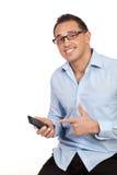 Geschäfts-Finger-Nadelanzeige Lizenzfreie Stockfotografie