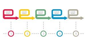 Geschäfts-Flussdiagramm Stockbild