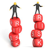 Geschäfts-Gefahr Lizenzfreies Stockfoto