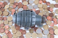 Geschäfts-Geld-Konzept-Idee lizenzfreies stockbild