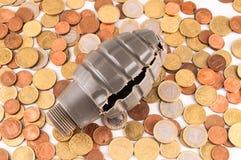 Geschäfts-Geld-Konzept-Idee stockbilder