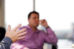 Geschäfts-Gespräch Stockbilder