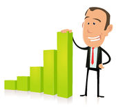 Geschäfts-großes Einkommen Lizenzfreie Stockfotos