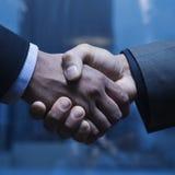 Geschäfts-Händedruck Stockfoto