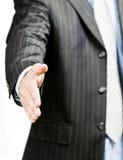 Geschäfts-Händedruck Stockfotos
