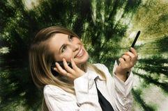 Geschäfts-Handy Stockfotografie