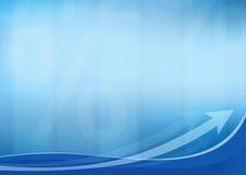 Geschäfts-Hintergrund mit Pfeilen Lizenzfreies Stockfoto