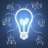 Geschäfts-Idee mit Teamwork Stockbild