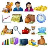 Geschäfts-Ikone Stockfoto
