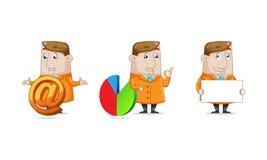 Geschäfts-Ikonen-Satz Lizenzfreie Stockfotos