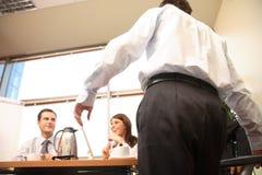 Geschäfts-Konferenzsaal Stockfotografie