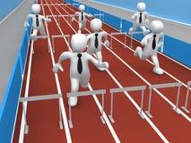 Geschäfts-Konkurrenz vektor abbildung