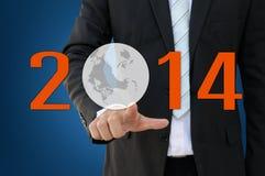 Geschäfts-Konzept 2014 Stockfoto