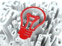 Geschäfts-Konzept auf Alphabet-Hintergrund. Lizenzfreie Stockfotografie
