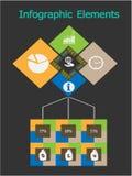 Geschäfts-Konzept - Infographic. Vektor Stockbild
