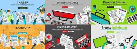 Geschäfts-Konzept mit Gekritzeldesignart: Finden der Lösung stock abbildung