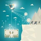 Geschäfts-Konzept, Team von Geschäftsfachleuten Stockfotos