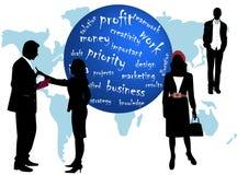 Geschäfts-Leute und wores Stockfotos