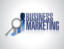Geschäfts-Marketing-Geschäftsdiagramm-Zeichenkonzept Lizenzfreies Stockfoto