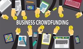 Geschäfts-Mengen-Finanzierungs-Konzept Lizenzfreies Stockfoto