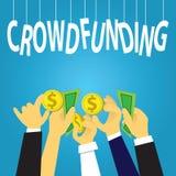 Geschäfts-Mengen-Finanzierungs-Konzept Lizenzfreie Stockbilder