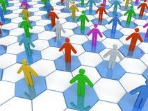 Geschäfts-Netz Lizenzfreies Stockbild