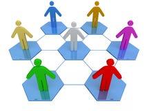 Geschäfts-Netz Lizenzfreie Stockbilder