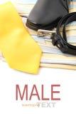 Geschäfts- oder Manneszubehör Lizenzfreie Stockbilder