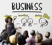 Geschäfts-Organisations-Firmenideen-Konzept Lizenzfreie Stockfotografie