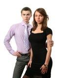 Geschäfts-Paare Stockfoto