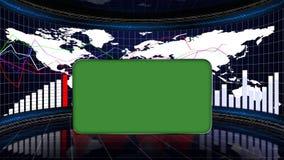 Geschäfts-Raum, Diagramme und Diagramme, Computergrafik-Hintergrund Stockfotografie
