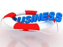 Geschäfts-Rettung Stockbilder