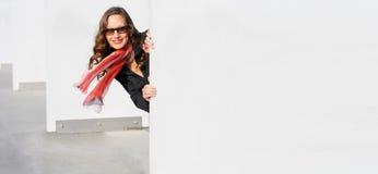 Geschäfts-schöne Frau Lizenzfreies Stockfoto