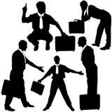 Geschäfts-Schattenbilder Lizenzfreies Stockfoto