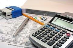 Geschäfts-Schreibtisch Stockfotos
