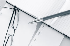 Geschäfts-Schreibtisch Lizenzfreie Stockbilder