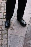 Geschäfts-Schuhe lizenzfreies stockfoto