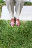 Geschäfts-Schuhe lizenzfreie stockfotografie