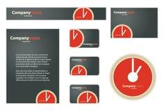 Geschäfts-Set Lizenzfreie Stockbilder
