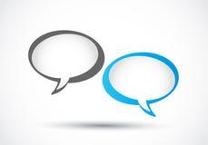 Geschäfts-Sprache-Blasen Stockbilder