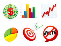 Geschäfts-Symbol Stockfotografie